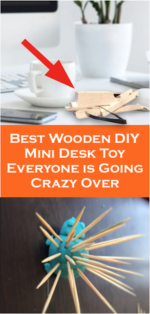 The Best Wooden DIY Mini Desk Toy Everyone is Going Crazy Over